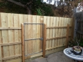 New Timber Fence